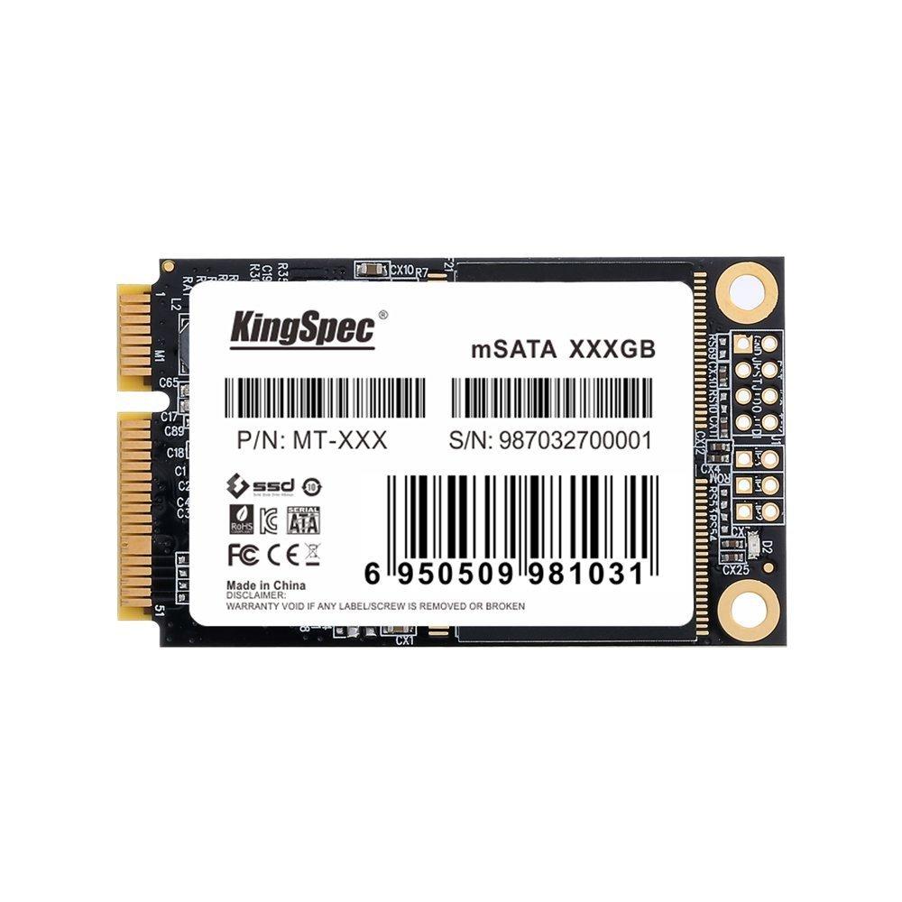 KingSpec – Disco Duro (mt-256) 256 GB MLC msataiii 6 GB/s Mini ...