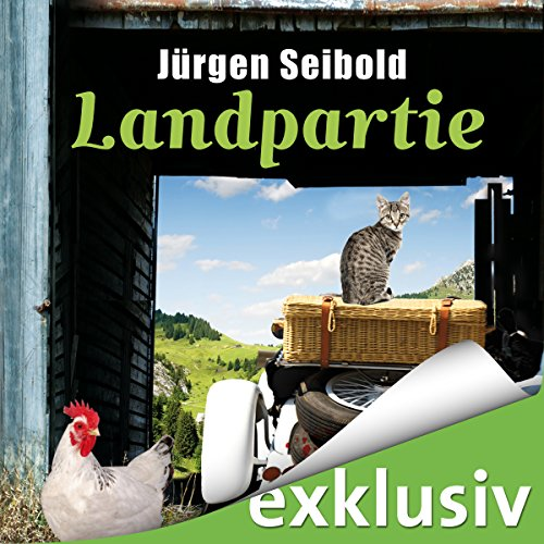 Landpartie audiobook cover art