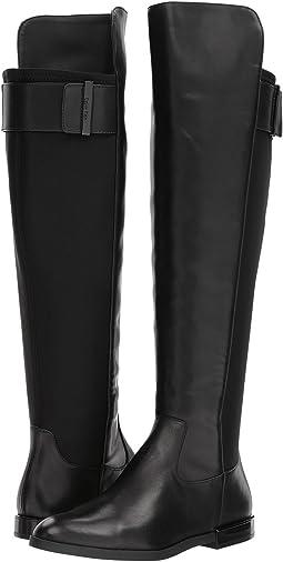 66a2b8f6483 Calvin Klein. Priya.  68.70MSRP   229.00. Black Cow Silk Neoprene Wide Calf