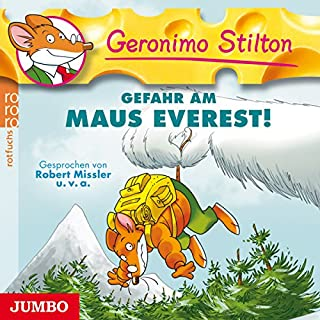 Gefahr am Maus Everest! (Geronimo Stilton 15) Titelbild