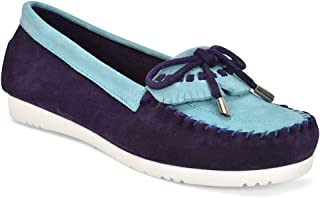 Five Tribe Women's Memorable Suede Moccasin Loafer