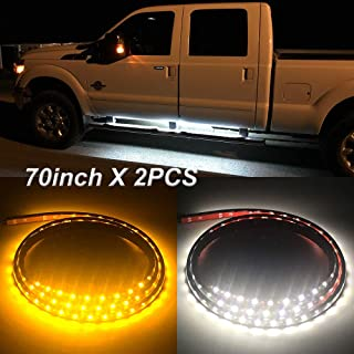 70 inch LED Light Side Step Running Board Strips Bar For Chevrolet Silverado