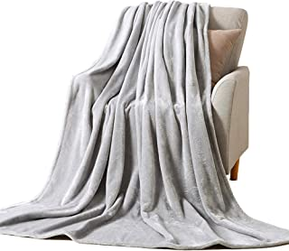 NANPIPER Throw Blanket Ultra Soft Thick Microplush Bed Blanket-All Season Premium Flannel Fleece Velvet Blanket for Sofa Couch(Twin Size 60