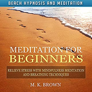 Meditation for Beginners: Relieve Stress with Mindfulness Meditation and Breathing Techniques cover art