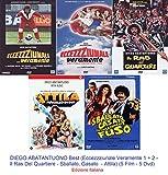 DIEGO ABATANTUONO Best (Eccezzziunale Veramente 1 + 2 - Il Ras Del Quartiere - Sballato, Gasato … - Attila) (5 Film - Dvd) Ed. Italiana