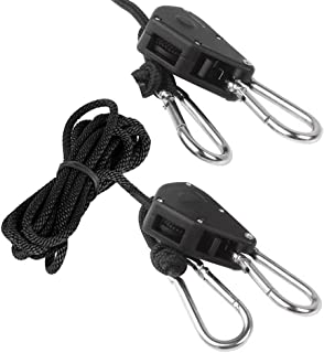 amazon light hangers adjustable Chevrolet Truck Trailer Wiring Harness cgbe grow light rope ratchet hangers 2 pcs 1 8 inch long adjustable rope hanger