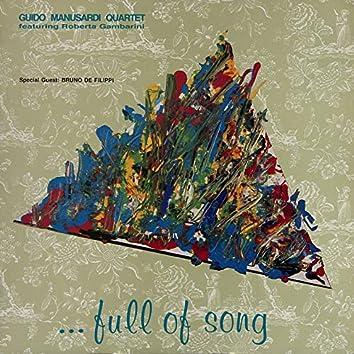 ...Full of Song (feat. Marco Ricci, Giancarlo Pillot, Roberta Gambarini, Bruno De Filippi)