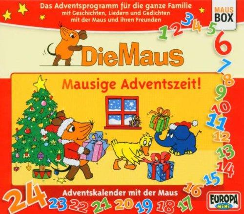 Die Maus. Mausige Adventszeit. 2 CDs . Adventskalender mit der Maus