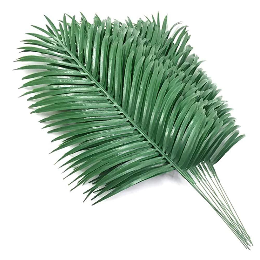 103x Tropical Hawaiian Artificial Palm Leaves Jungle Foliage Party Decor Wedding