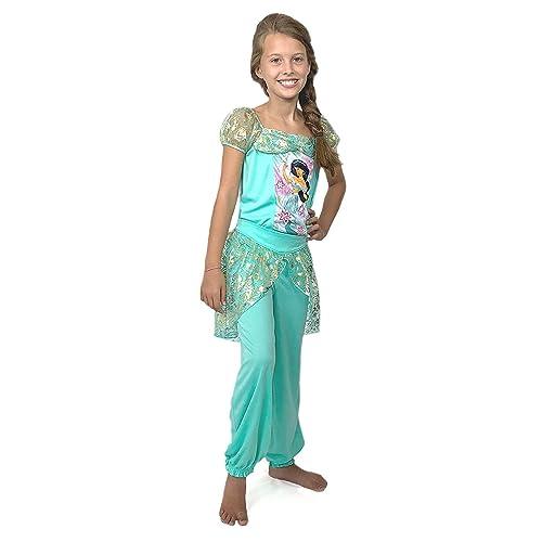 41b2a8058 Amazon.com  Disney Princess Jasmine Girls Fantasy Pajamas (4 ...