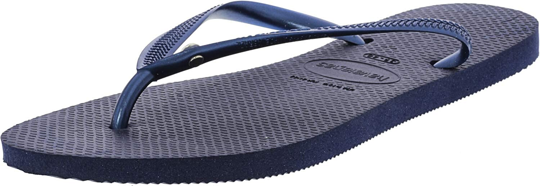 Havaianas Women's Slim Crystal Glamour Flop Flip SW Lowest price challenge Navy Sandal Max 88% OFF
