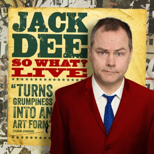 Jack Dee - So What Live audiobook cover art