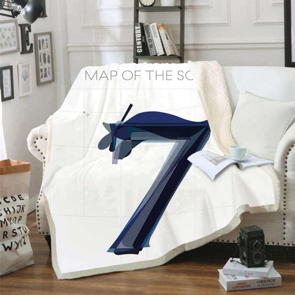 ARTPBG Flannel Blanket 3D BTS Map Hobby-130x 7 The Spring new work of Tucson Mall Light Soul