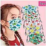 Face Macks for Kids Bandanas with Elastic Band Dust Mouth Particle Breathable Home Outdoor Indoor School...