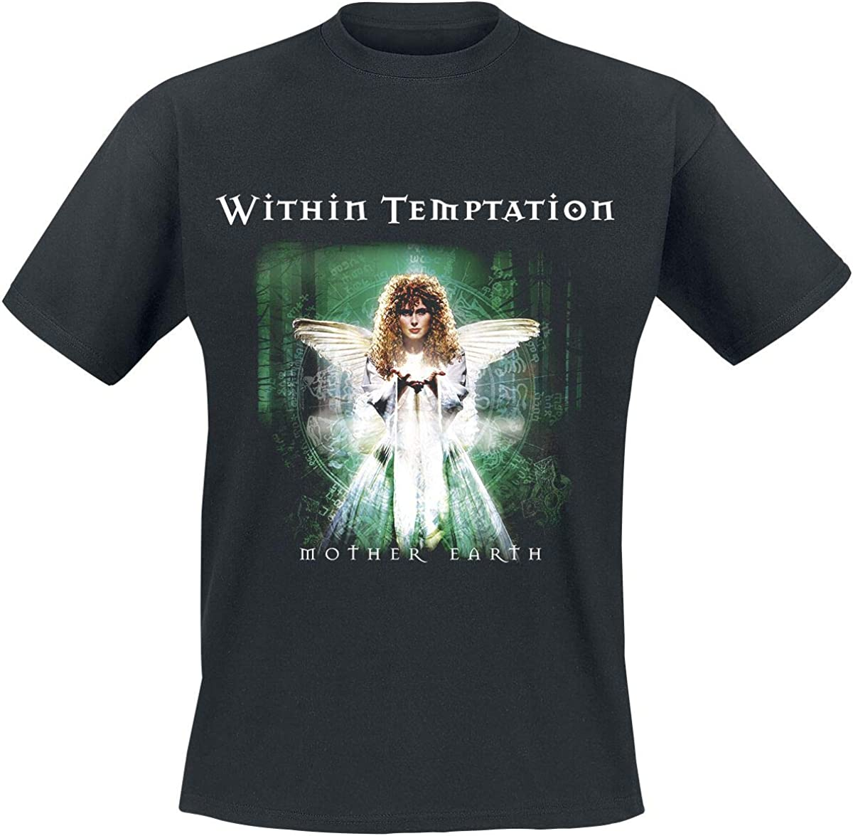 Within Temptation High order T Shirt Mother Earth Official B Band Mens Factory outlet Logo