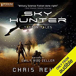 Sky Hunter audiobook cover art