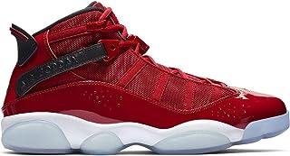 65d0792467e9 Jordan 322992-601  Men s Gym Red Black White 6 Rings Sneakers