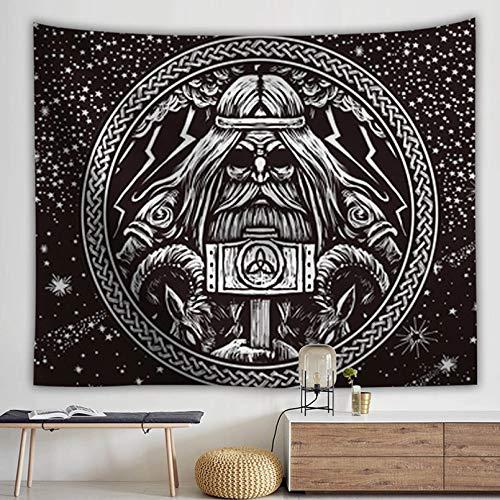 N/A Decoración de tapices Tapiz Bohemio de Tela de Pared Grande Tapis MuraltenturePunk Carpet