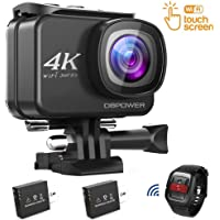 DBPOWER D5 Native 4K EIS Action Camera