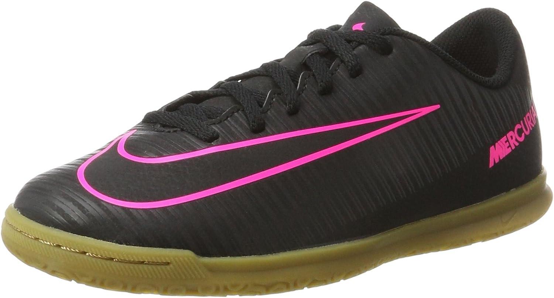 frecuencia borgoña leopardo  Nike - JR MercurialX Vortex Iii IC - Color: Black - Size: 4.0US: Amazon.ca:  Shoes & Handbags