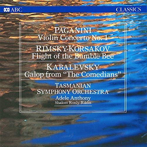 Tasmanian Symphony Orchestra, Adele Anthony & Shalom Ronly-Riklis