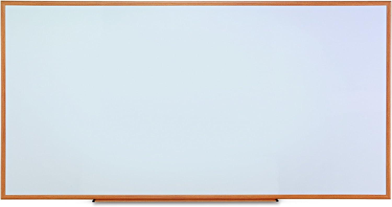 Universal Dry Erase Marker Board Melamine Memphis Mall x Wood Sale item 48 Oak 96 Fr