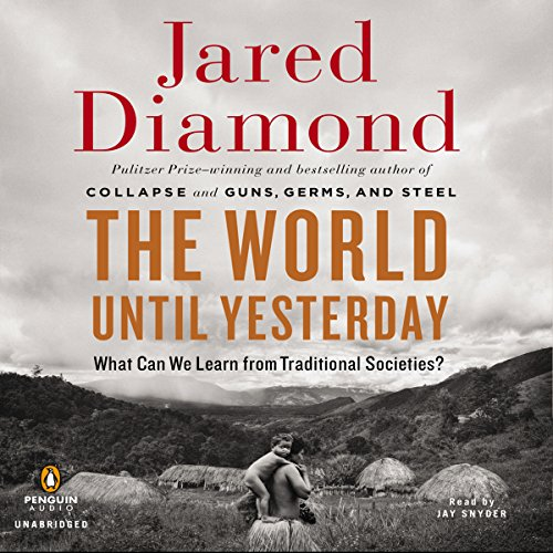 The World until Yesterday audiobook cover art