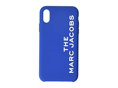 Marc Jacobs Silicone iPhone XR Case (Blue) Cell Phone Case
