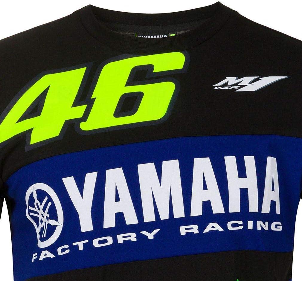Valentino Rossi T-Shirt VR46 MotoGP M1 Power Line Logo Yamaha Official 2020