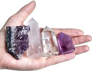 Healing Small Size Natural Crystal Wands | 1-2