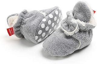 Botas de Niño Calcetín Invierno Soft Sole Crib Raya de