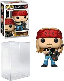 Bret Michaels Pop #207 Pop Rocks Vinyl Figure (Includes Compatible Ecotek Plastic Pop Box Protector Case)