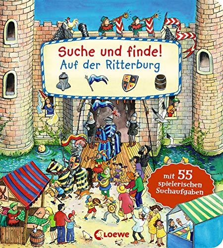 Suche und finde! - Auf der Ritterburg: Mit 55 spielerischen Suchaufgaben