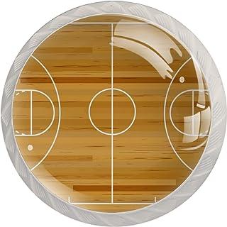 Poignées de Tiroir pour armoire,tiroir,coffre,commode,etc., Terrain de basket-ball