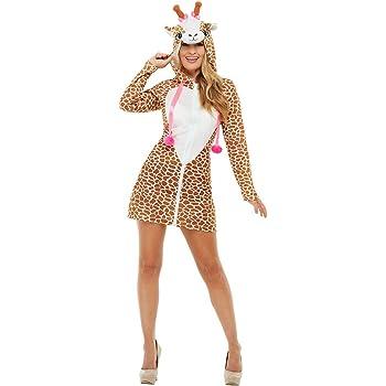 Smiffys 47786M - Disfraz de jirafa para mujer, talla M, color ...