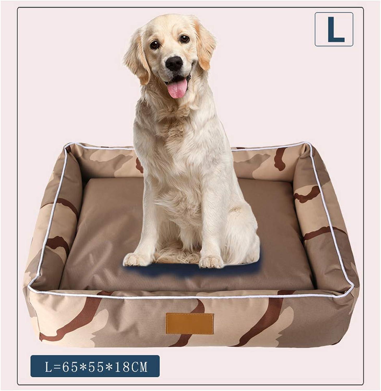 Camo Winter Pet Bed Mats, Warm Breathable BiteResistant Washable MoistureProof, Dog Cat Beds Pet Furniture Supplies,L6555  18Cm