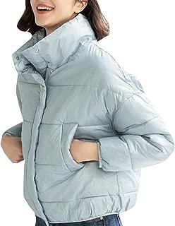 GAGA Women's Packable Down Jacket Lightweight Winter Puffer Bubble Outerwear Coat