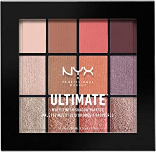 NYX Professional Makeup Ultimate Multi-Finish Shadow Palette, Sugar High 06