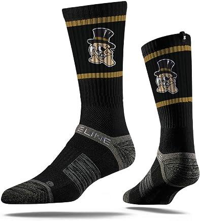 sports shoes 5204b 88d2d Strideline NCAA Mens NCAA Premium Athletic Crew Socks