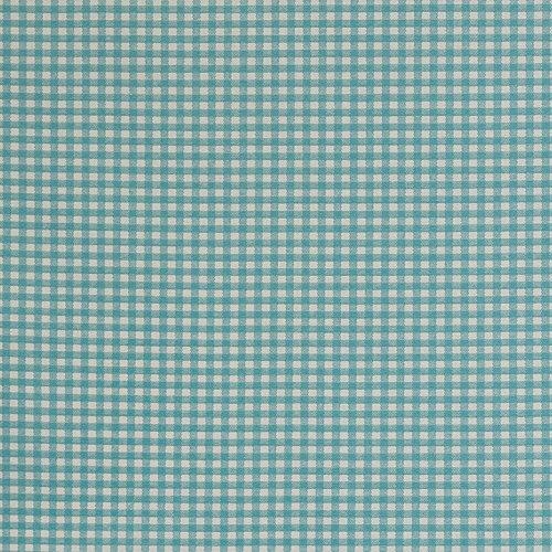 Hadson Craft Bedrukt Katoen Groen Geruit Zware Doek Stof voor Uitdeur Bekleding Breedte 44 inch (114 cm)– Prijs per meter (100 cm), One Size