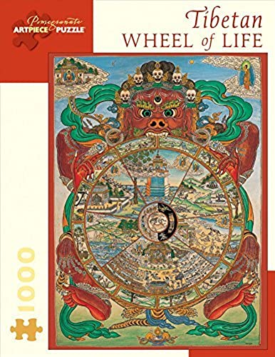 de moda Tibetan Wheel of Life Puzzle  1000 Pcs Pcs Pcs by  Pomegranate Communications, Inc.   envío rápido en todo el mundo