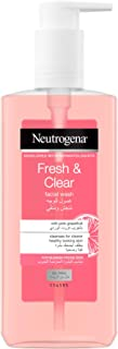 Neutrogena Facial Wash, Fresh & Clear, with Pink Grapefruit for blemish prone skin, 200ml