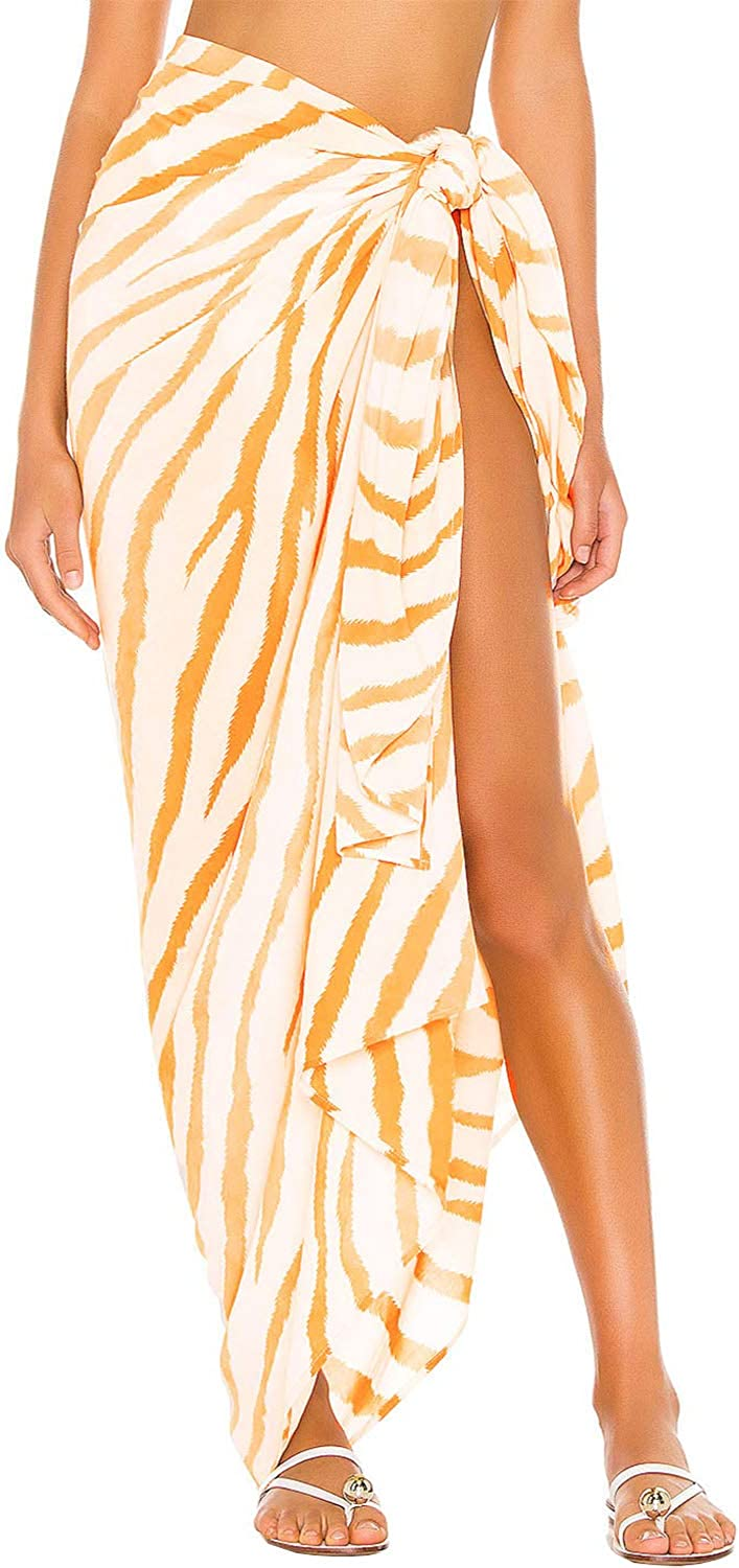 ChainJoy Womens Sheer Beach Sarong Skirt Swimsui Summer Cover A Great interest surprise price is realized Up