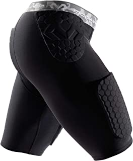 McDavid Hex Integrated Football Girdle Shorts w/Built in Hex Pads, Adult & Youth Sizes