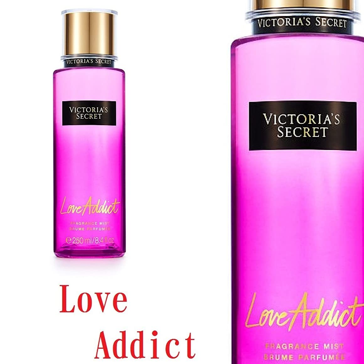 肝相談する路地フレグランスミスト Victoria'sSecretFantasies FragranceMist ヴィクトリアシークレット Victoria'sSecret (949.ラヴアディクト/LoveAddict) [並行輸入品]