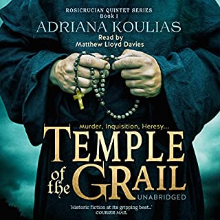 Temple of the Grail audiobook cover art