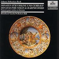 Violin & Harpsichord Sonatas by Bach