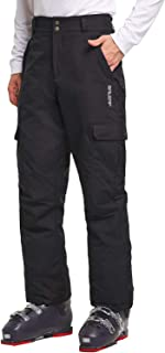 BALEAF Men's Ski Snowboarding Pants Windproof Snow Insulated Pants Windbreaker/Waterproof 5K/5K