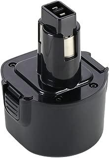 POWERAXIS 9.6v 3.0Ah High Capacity Replace for Black&Decker PS120 FS432 HP131 KC96CE PS310 PS320 PS3200 PS3350 PS3350K Q115 SX2000 TV230 PS120 Dewalt Dw9061 Dw9062 De9036 De9062 Dw9614 Dw050