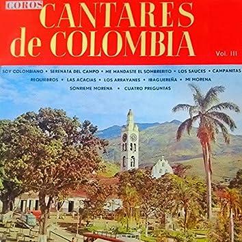 Coros Cantares de Colombia, Vol. III